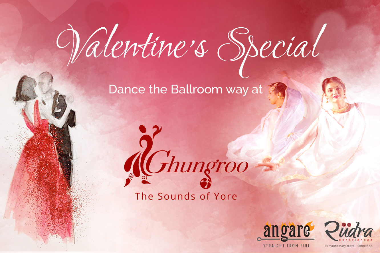 Valentine's Special – Dance the Ballroom way at Ghungroo