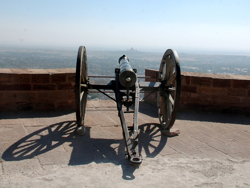 At the Mehrangarh Fort, Jodhpur