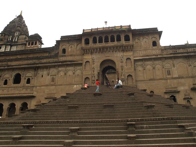 Ahilya Fort - Facade near Narmada, Maheshwar