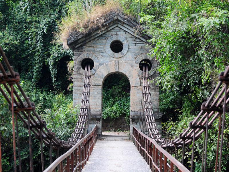 Swinging Bridge - Gateway to Chanfi, Kumaon