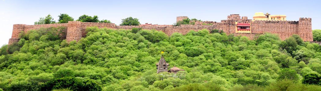 View of Ramathra Fort - Karauli