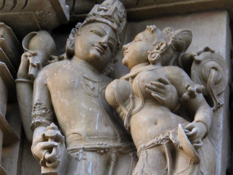 Erotic Sculptures at Khajuraho Temples