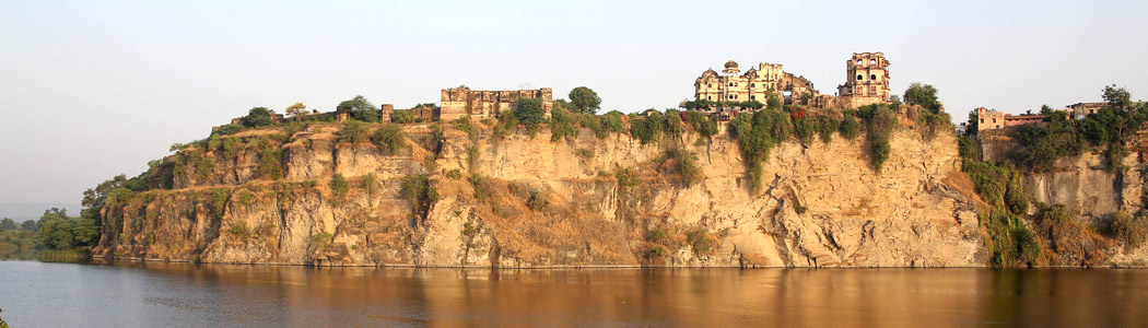 Bhainsrorgarh - View across the river