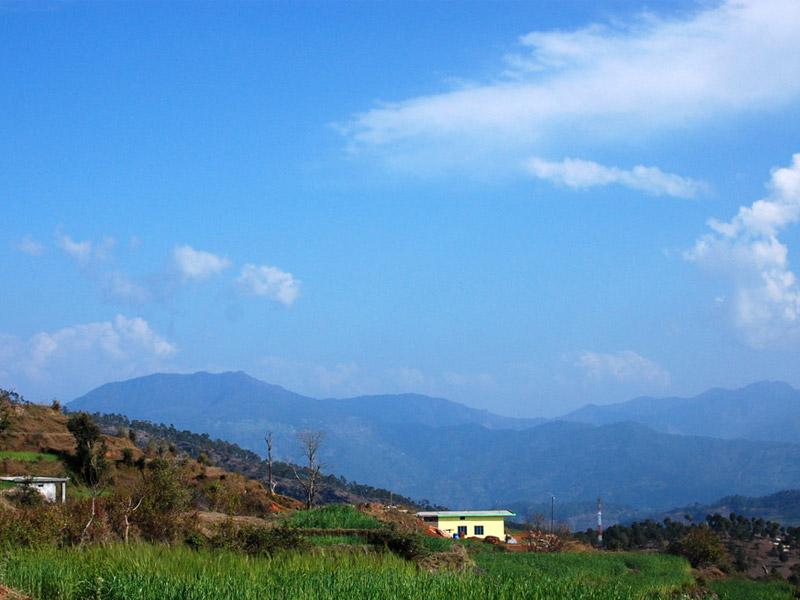Beauty of Chaukori's Surroundings, Kumaon