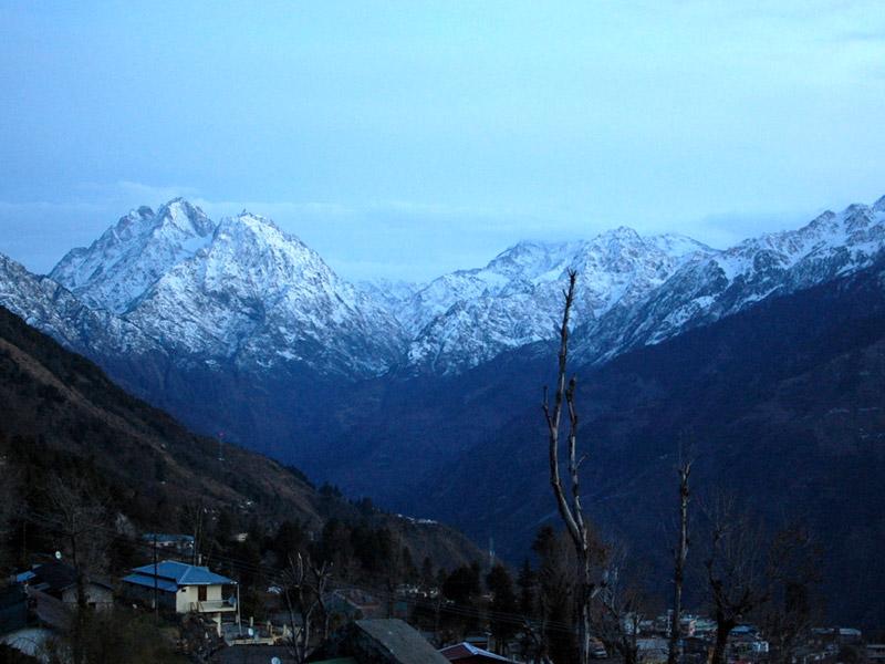 Panchchuli Peaks at Munsyari