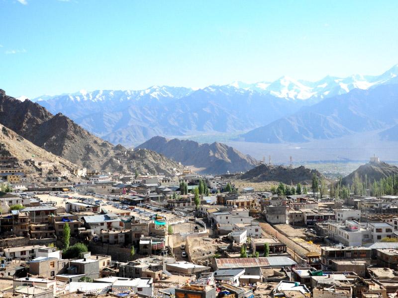 Leh, a High-Desert City