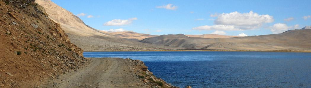 Spectacular Tsomoriri in Ladakh Valley